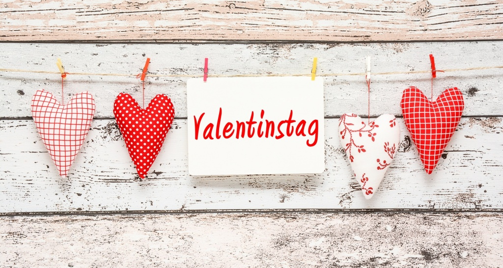 Valentinstag happy new year